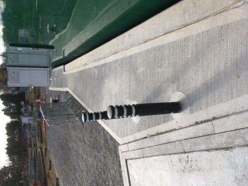 Access ramp - Ellon WTW.