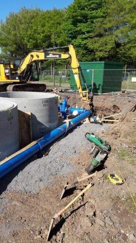 Bypass installation - South Moorehouse- WTW.